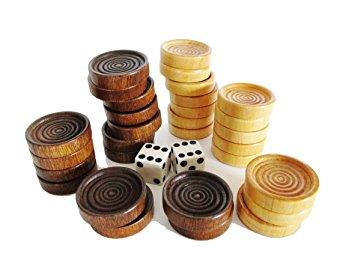 Backgammon Pieces - Jouets LOL Toys