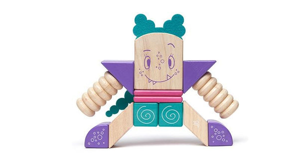 Tegu Sticky Monsters 18 piece - Jouets LOL Toys