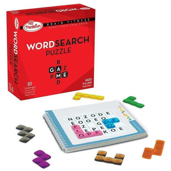 Thinkfun Brain Fitness Word Search Puzzle (Eng) - Jouets LOL Toys