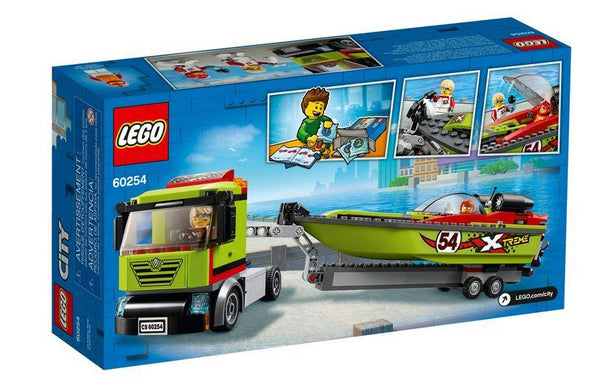 Lego City Race Boat Transporter - 60254 - Jouets LOL Toys
