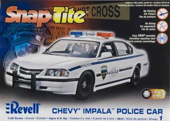 Car Model Impala Revell Chevy Police lFK1cJ