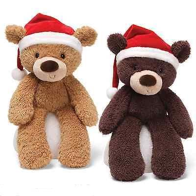 Gund Bear With Santa Hat - Jouets LOL Toys