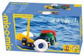 Mic-O-Mic Construction Kit Boat (Small) - Jouets LOL Toys