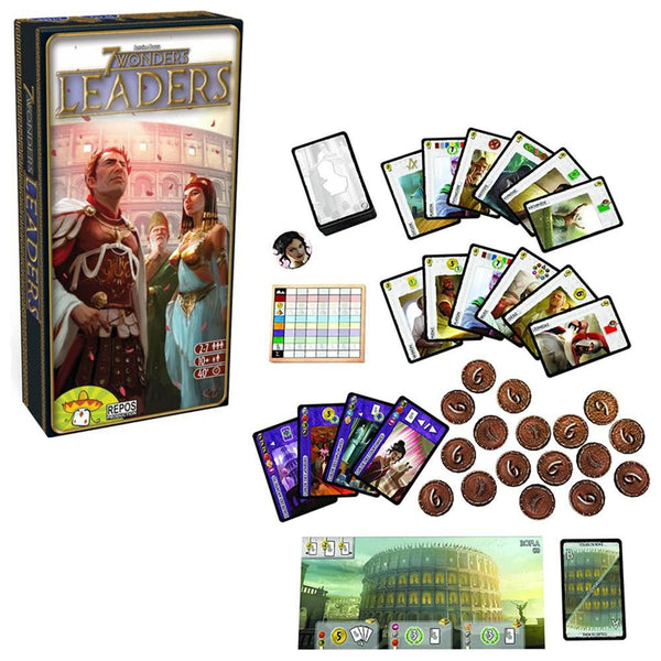 7 Wonders Leaders Expansion - Jouets LOL Toys