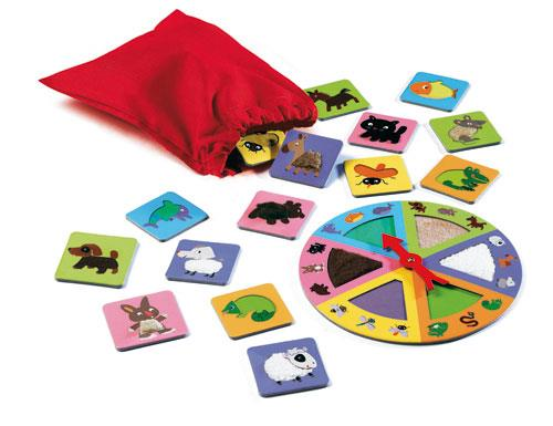Djeco Tactile Loto Animals - Jouets LOL Toys