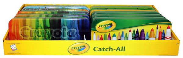 Crayola Tin Pencil Case - Jouets LOL Toys