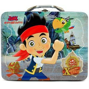 Jake and the Neverland Pirates Tin Lunch Box - Jouets LOL Toys