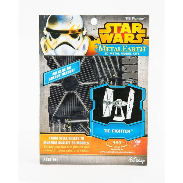 Metal Earth Tie Fighter 3D Model - Jouets LOL Toys