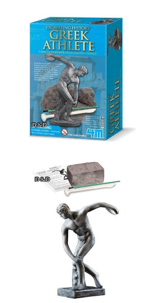 Greek Dig and Discover Disk Statue - Juoets LOL Toys