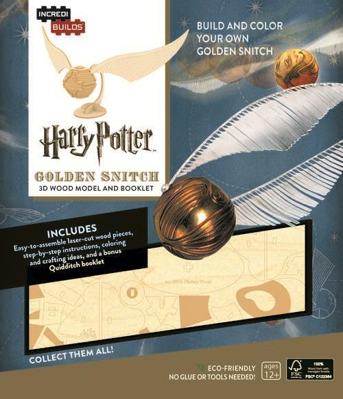 Incredibuilds Harry Potter Golden Snitch - Jouets LOL Toys