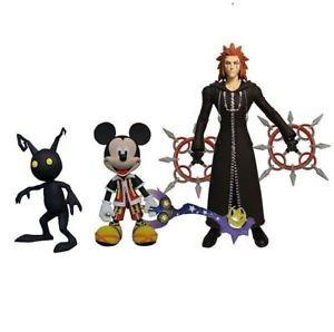 Kingdom Hearts MM, A & S Action Figure Set- Jouets LOL Toys