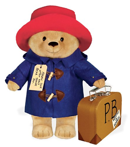 Paddington Bear Suitcase Plush - Jouets LOL Toys