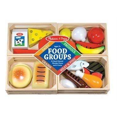 Food Groups - Wooden Play Food - Jouets LOL Toys