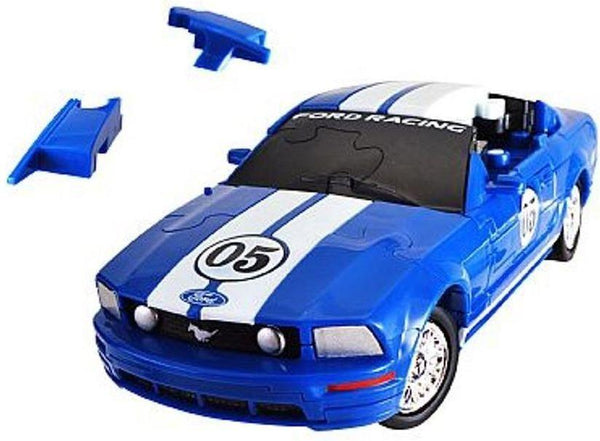 Ford Mustang Blue 3D Puzzle - Jouets LOL Toys