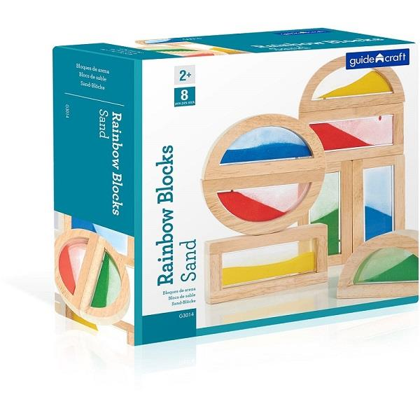 Guidecraft Rainbow Blocks Sand - Jouets LOL Toys