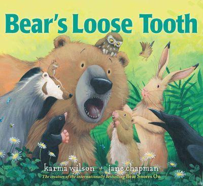 Bear's Loose Tooth Book - Jouets LOL Toys