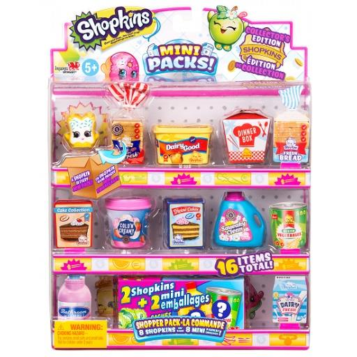 Shopkins Mini Packs Season 10 Shopper 8 Pack - Jouets LOL Toys