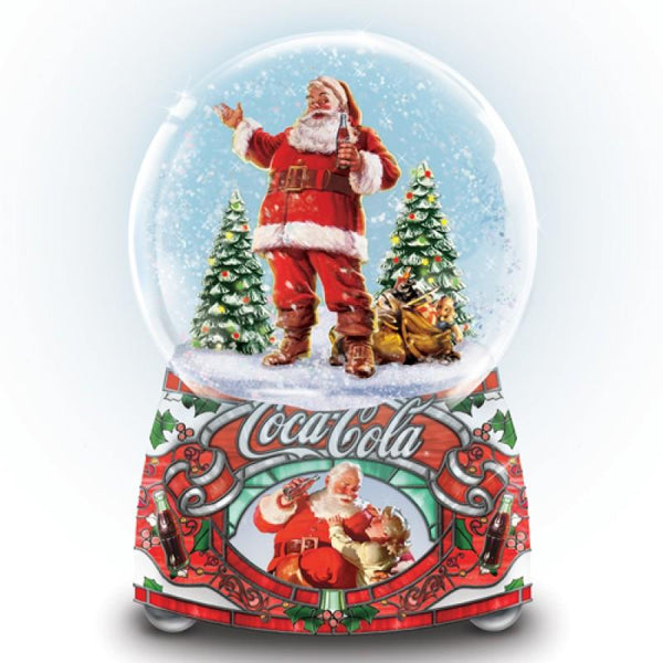 BE Coca-Cola Share the Joy Illuminated Glitter Globe - Jouets LOL Toys