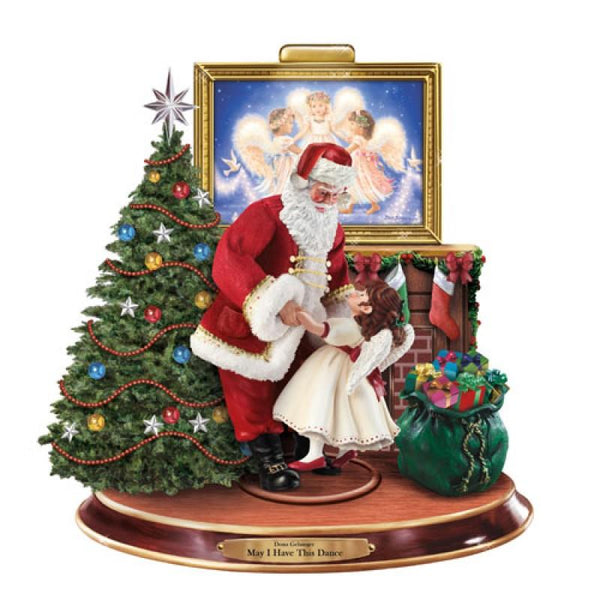 Bradford Exchange May I Have This Dance Santa Figure - Jouets LOL Toys