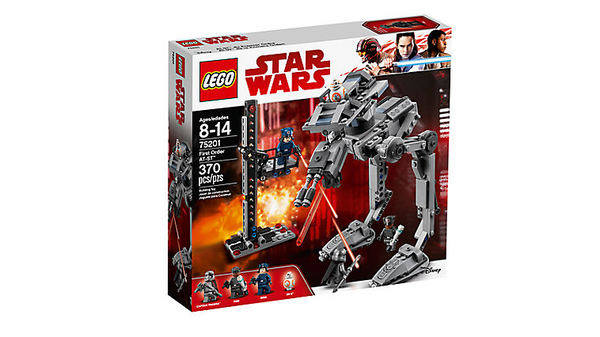 Lego Disney Star Wars First Order AT-ST - 75201