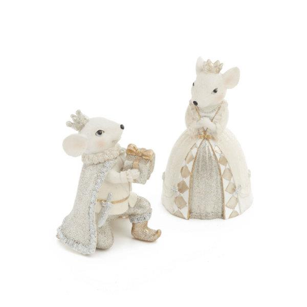 Royal Mouse Figurines (Set of 2) - Jouets LOL Toys