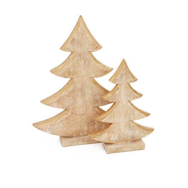 Christmas Wooden Tree Decoration (Small) - Jouets LOL Toys