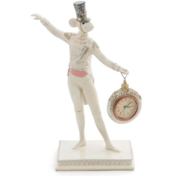 Mouse With Clock Figurine - Jouets LOL Toys
