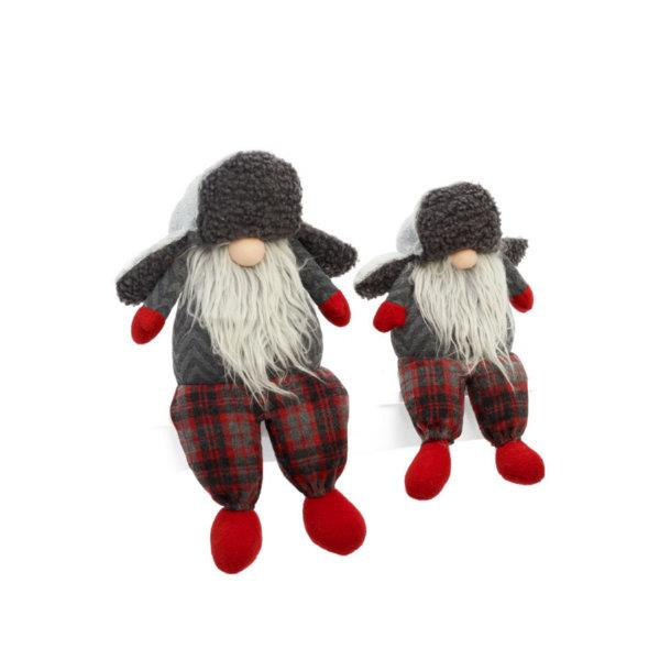 Santa Gnome with Hunter Hat Plush - Jouets LOL Toys