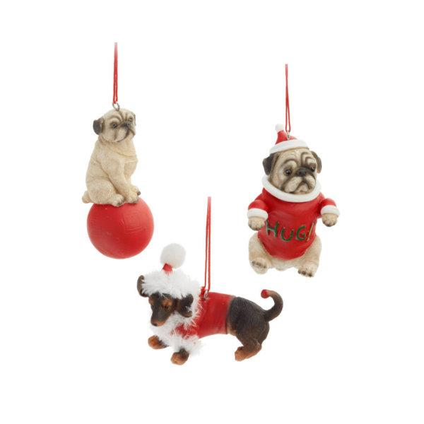 Christmas Ornament Dogs - Jouets LOL Toys