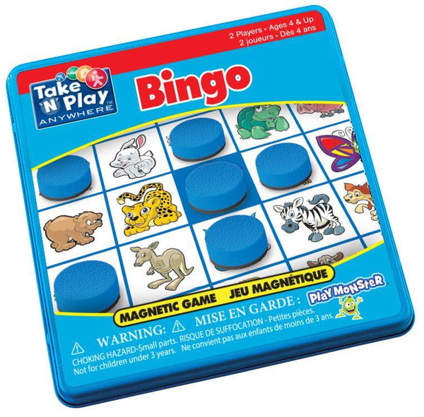 Take 'N' Play Anywhere Magnetic Bingo - Jouets LOL Toys