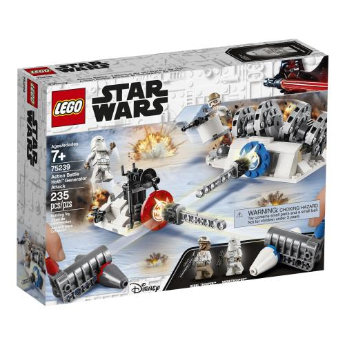 Lego Star Wars Action Battle Hoth - 75239 - Jouets LOL Toys