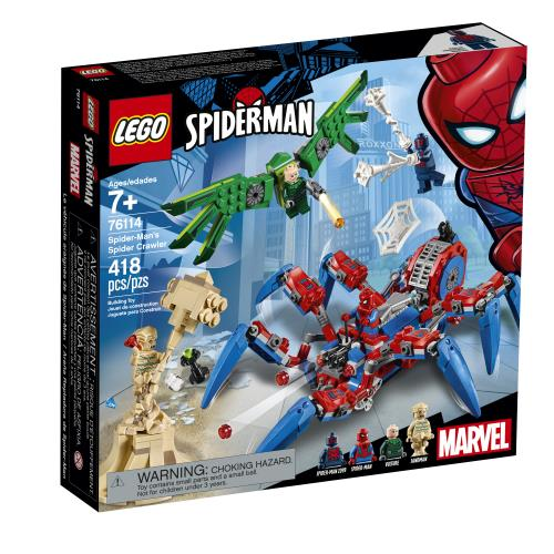 Lego Spider-Man's Spider Crawler - 76114 - Jouets LOL Toys