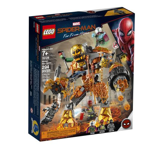 Lego Marvel Spider-Man Molten Man Battle - Jouets LOL Toys