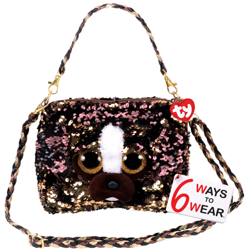 TY Sequin Purse Brutus - Jouets LOL Toys