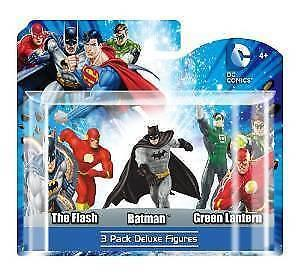 DC 3-Pack Figure Set (Flash, Batman, Green Lantern) - Jouets LOL Toys