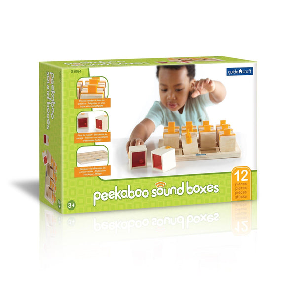 Guidecraft Peekaboo Sound Boxes - Jouets LOL Toys