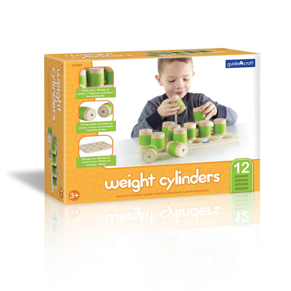 Guidecraft Weight Cylinders - Jouets LOL Toys