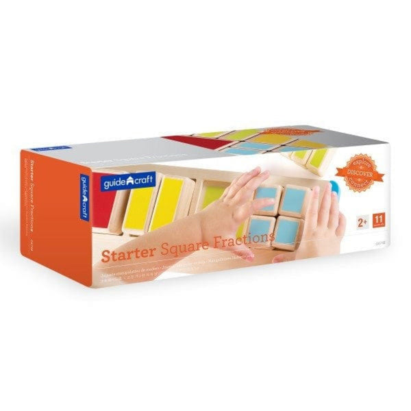 Guidecraft Starter Fractions Square - Jouets LOL Toys