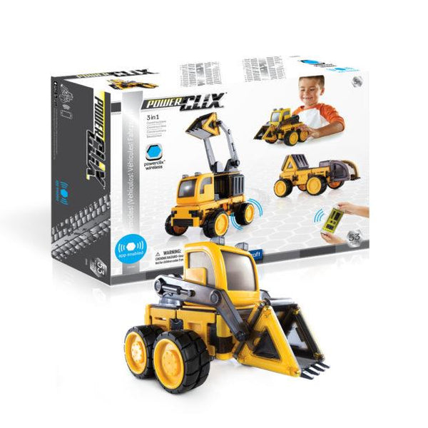 Guidecraft PowerClix Construction Vehicles Set - Jouets LOL Toys