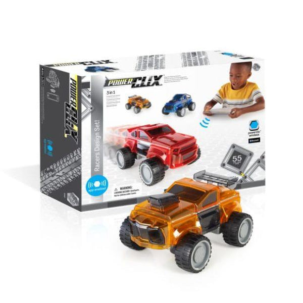 Guidecraft PowerClix Bluetooth Racers Design Set - Jouets LOL Toys