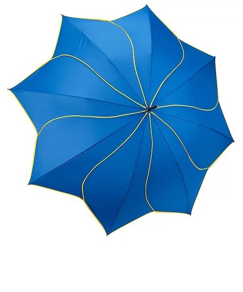 Galleria Swirl Umbrella Navy/Yellow - Jouets LOL Toys