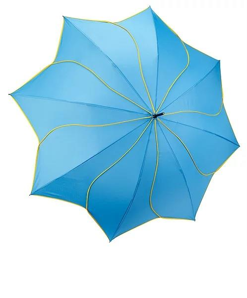 Galleria Swirl Umbrella Aqua/Yellow - Jouets LOL Toys
