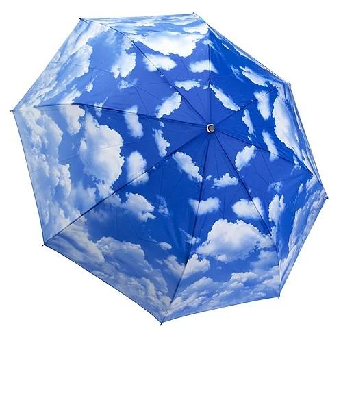 Galleria Reverse Close Folding Umbrella Clear Skies - Jouets LOL Toys