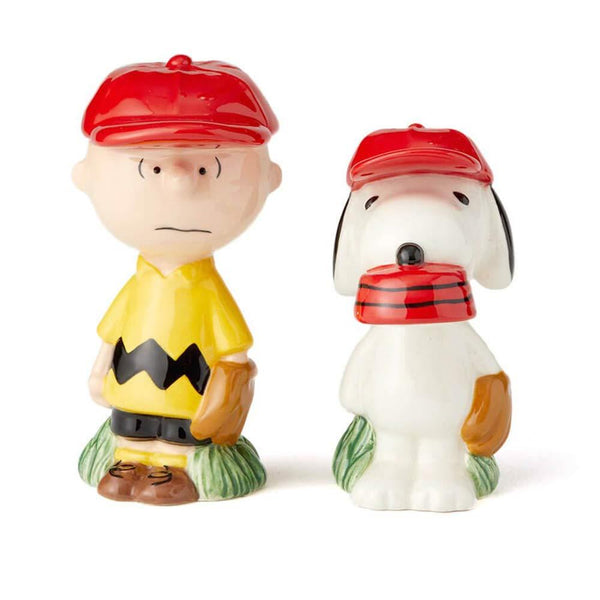 Enesco Peanuts Charlie Brown & Snoopy S&P Set - Jouets LOL Toys