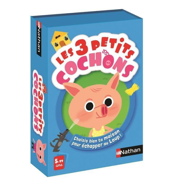 Nathan Les 3 Petits Cochons - Jouets LOL Toys