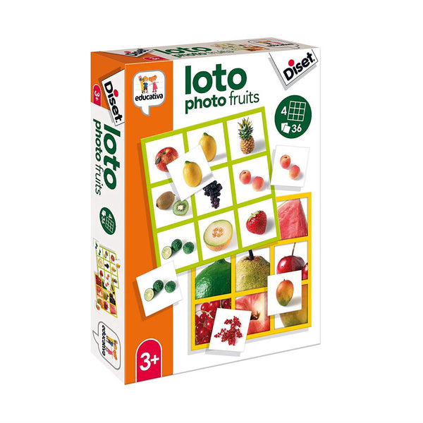 Diset Loto photo fruits - Jouets LOL Toys