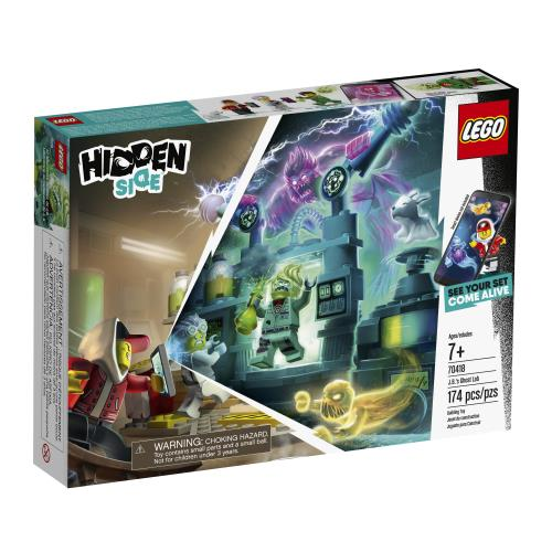 Lego Hidden Side JB's Ghost Lab - Jouets LOL Toys