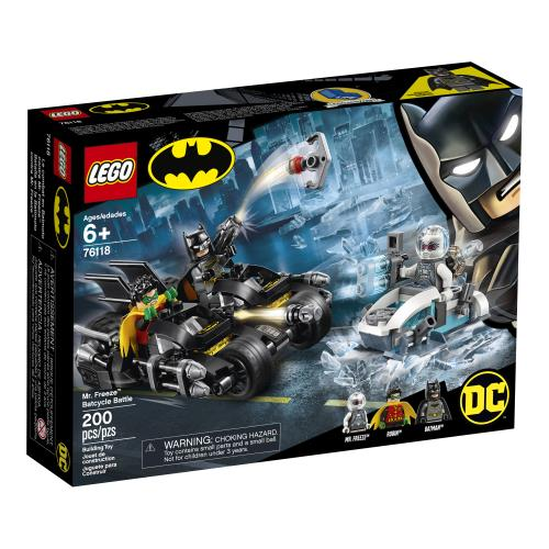 Lego DC Batman Mr. Freeze Batcycle Battle - Jouets LOL Toys