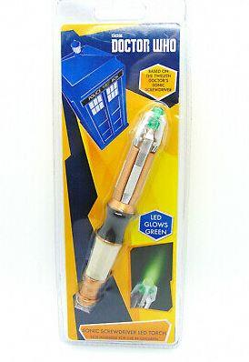 Doctor Who Eleventh Doctor's Sonic Screwdriver LED Flashlight - Jouets LOL Toys