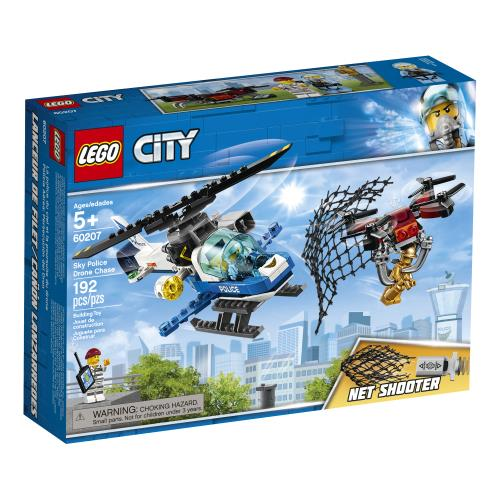 Lego City Sky Police Drone Chase - 60207 - Jouets LOL Toys